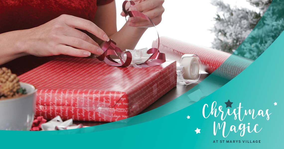 Christmas gift wrapping services