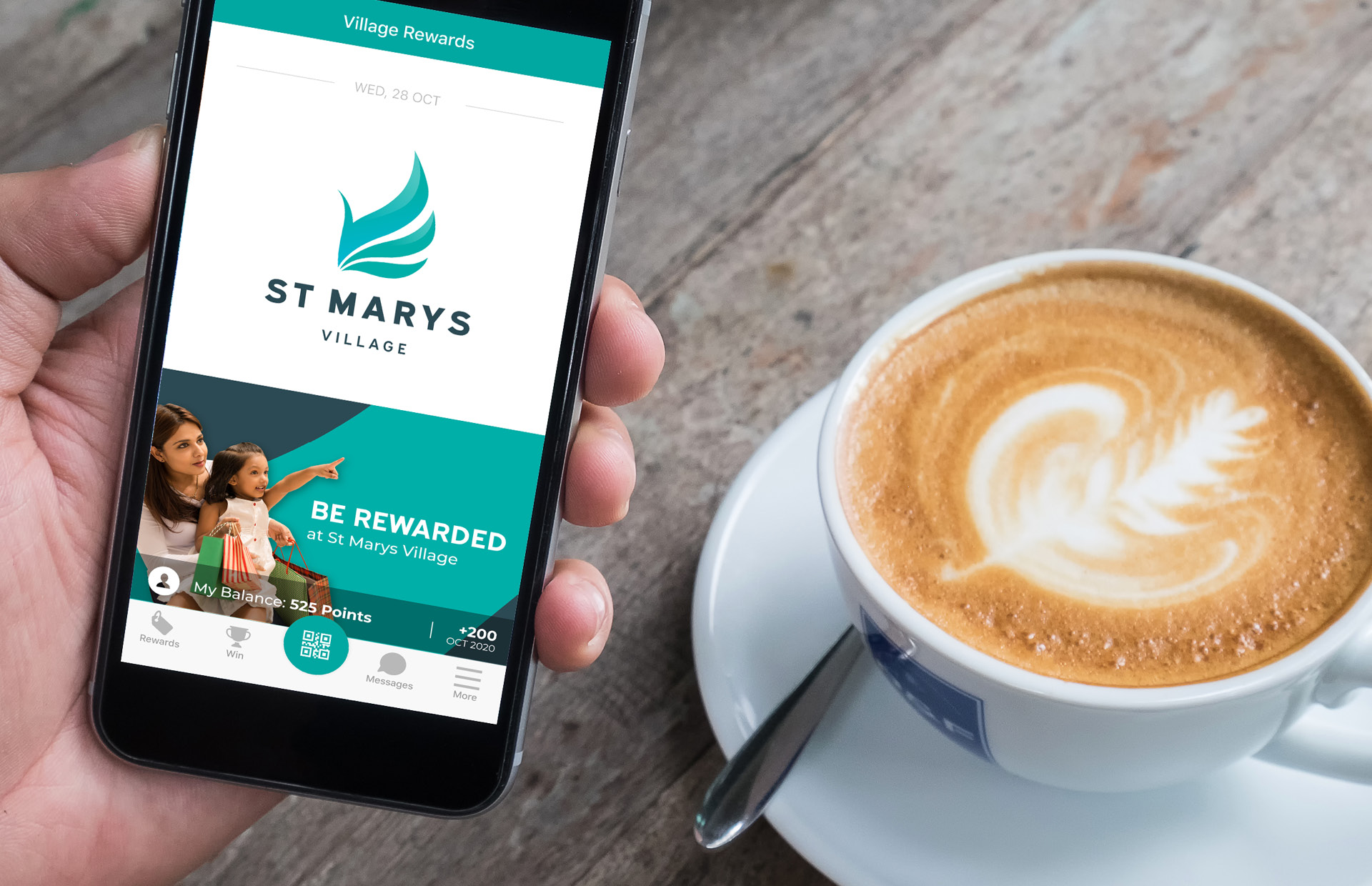 Be rewarded when you shop at St Marys Village