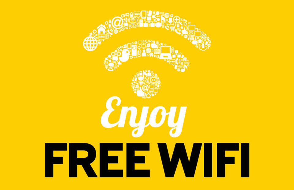 FREE WI-FI is now available